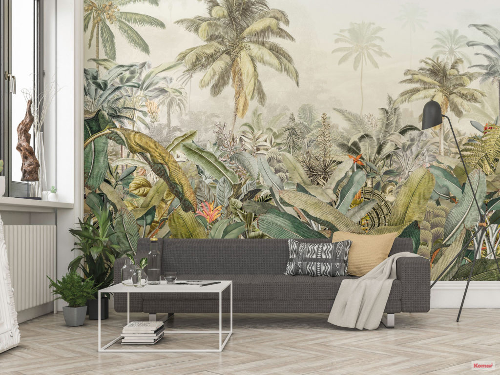Fresque murale Jungle